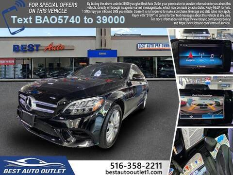 2019 Mercedes-Benz C-Class for sale at Best Auto Outlet in Floral Park NY