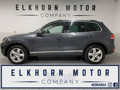 2012 Volkswagen Touareg for sale at Elkhorn Motor Company in Waterloo NE