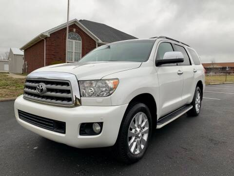 2011 Toyota Sequoia for sale at HillView Motors in Shepherdsville KY