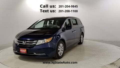 2016 Honda Odyssey for sale at NJ State Auto Used Cars in Jersey City NJ