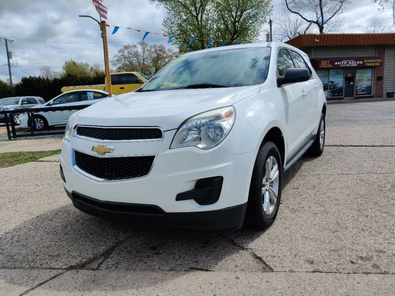 2015 Chevrolet Equinox for sale at Lamarina Auto Sales in Dearborn Heights MI