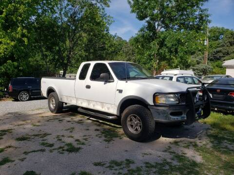 1997 Ford F-150 for sale at Wheel Tech Motor Vehicle Sales in Maylene AL