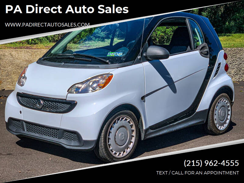 2014 Smart fortwo for sale at PA Direct Auto Sales in Levittown PA