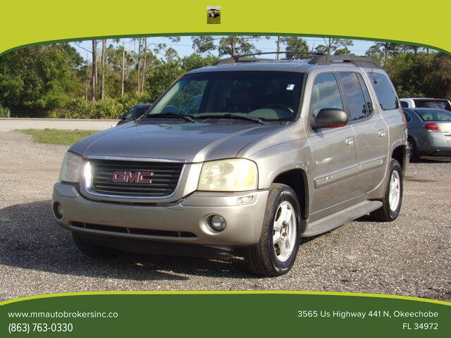 2003 GMC Envoy XL for sale at M & M AUTO BROKERS INC in Okeechobee FL