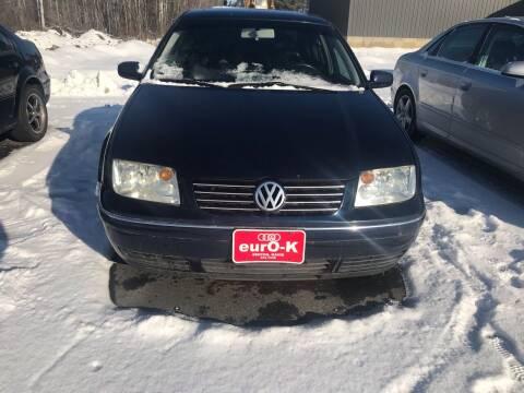 2004 Volkswagen Jetta for sale at eurO-K in Benton ME