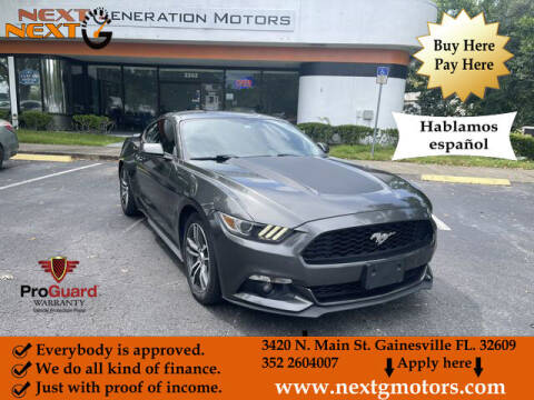 2016 Ford Mustang for sale at Next G Motors in Gainesville FL