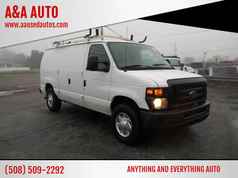 2012 Ford E-Series Cargo for sale at A&A AUTO in Fairhaven MA