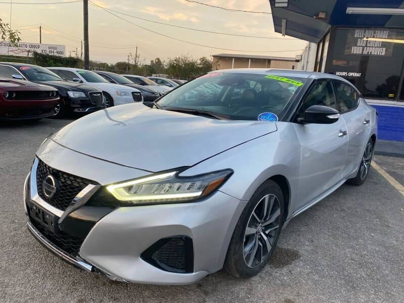 2020 Nissan Maxima for sale at Cow Boys Auto Sales LLC in Garland TX