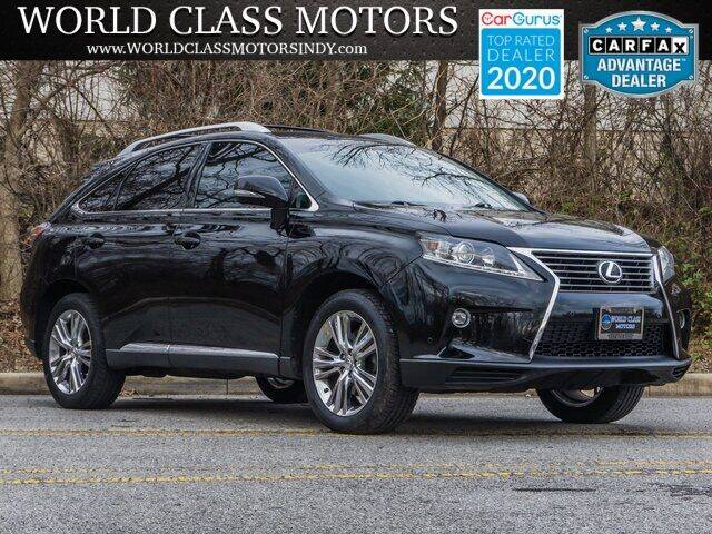 2015 Lexus RX 350 for sale at World Class Motors LLC in Noblesville IN