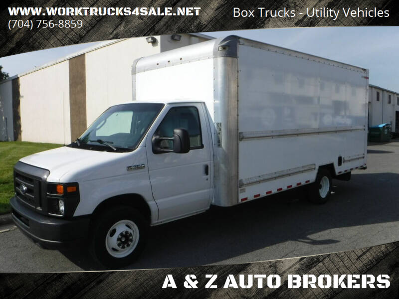 2017 Ford E-Series Chassis for sale at A & Z AUTO BROKERS in Charlotte NC