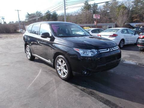 2014 Mitsubishi Outlander for sale at MATTESON MOTORS in Raynham MA