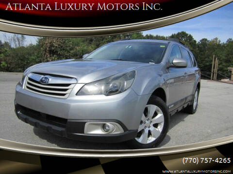 2011 Subaru Outback for sale at Atlanta Luxury Motors Inc. in Buford GA