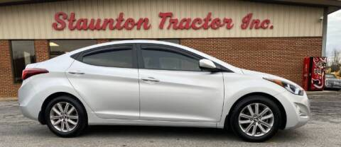 2015 Hyundai Elantra for sale at STAUNTON TRACTOR INC in Staunton VA