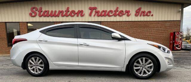 2015 Hyundai Elantra for sale at STAUNTON TRACTOR INC in Staunton VA