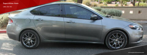 2013 Dodge Dart for sale at Superstition Auto in Mesa AZ