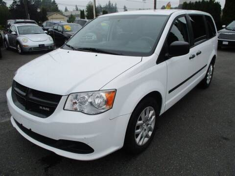 2014 RAM C/V for sale at GMA Of Everett in Everett WA