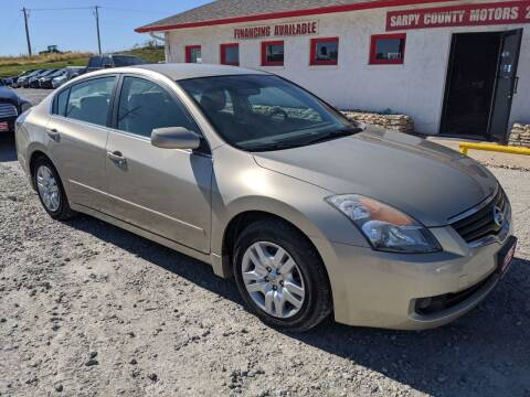 2009 Nissan Altima for sale at Sarpy County Motors in Springfield NE