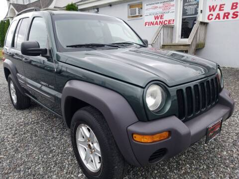 2003 Jeep Liberty for sale at Reyes Automotive Group in Lakewood NJ