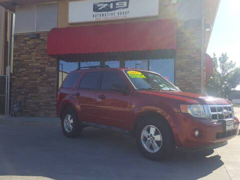 2011 Ford Escape for sale at 719 Automotive Group in Colorado Springs CO