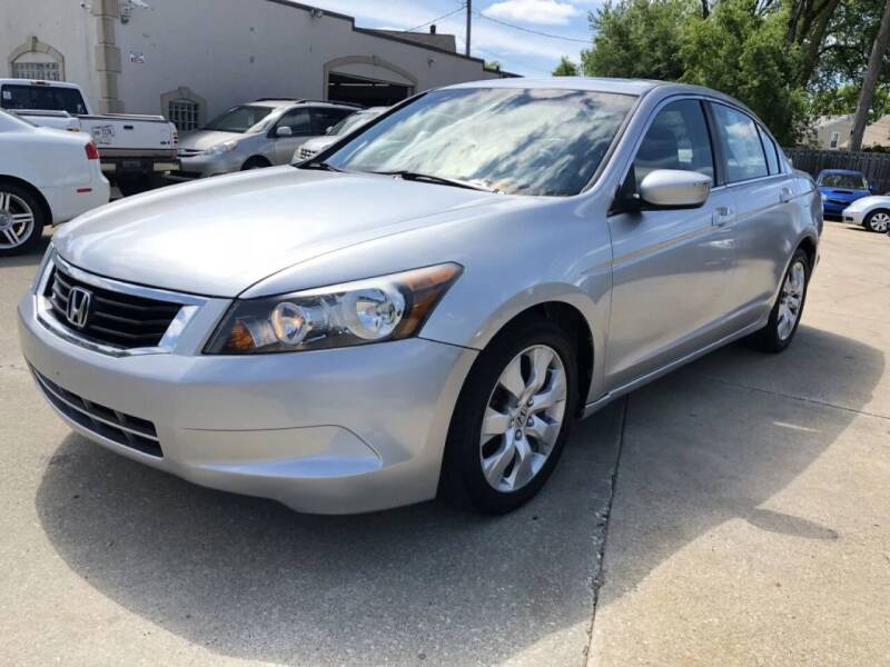 2009 Honda Accord for sale at T & G / Auto4wholesale in Parma OH