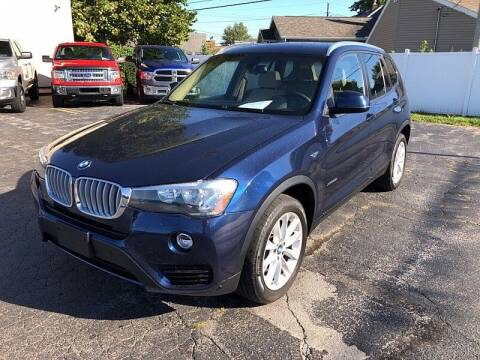 2017 BMW X3 for sale at CItywide Auto Credit in Oregon OH