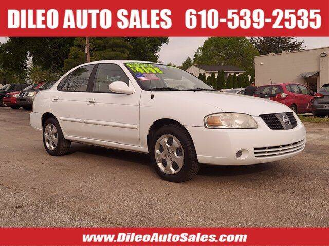 2006 Nissan Sentra for sale at Dileo Auto Sales in Norristown PA