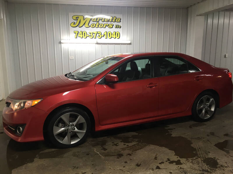 2012 Toyota Camry for sale at MARIETTA MOTORS LLC in Marietta OH