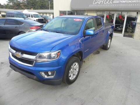 2018 Chevrolet Colorado for sale at Thompson Car Company in Bad Axe MI