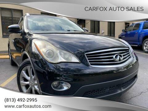 2008 Infiniti EX35 for sale at Carfox Auto Sales in Tampa FL
