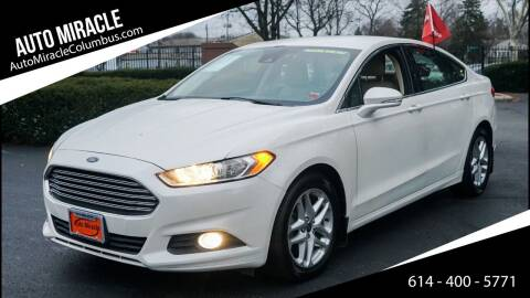 2013 Ford Fusion for sale at Auto Miracle in Columbus OH