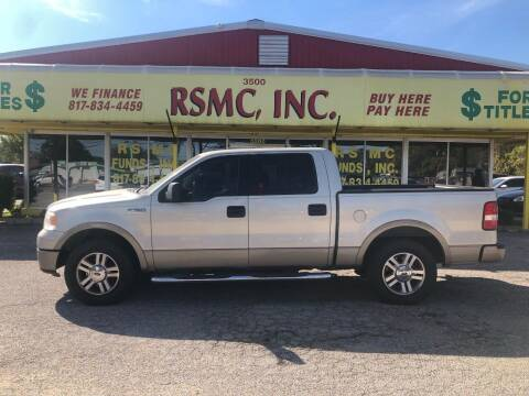 2006 Ford F-150 for sale at Ron Self Motor Company in Fort Worth TX