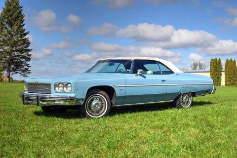 1975 Chevrolet Caprice for sale at Hooked On Classics in Watertown MN