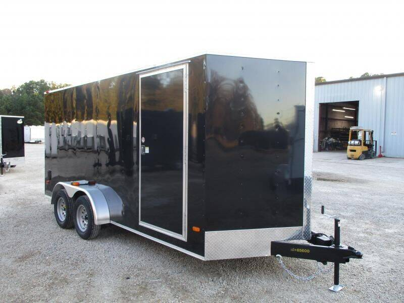 2021 Covered Wagon Trailers Silver Series 7x16 Vnose for sale at Vehicle Network - Barnes Equipment in Sims NC