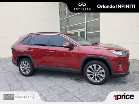 2019 Toyota RAV4 for sale at Orlando Infiniti in Orlando FL