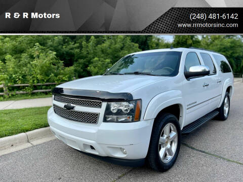 2009 Chevrolet Suburban for sale at R & R Motors in Waterford MI