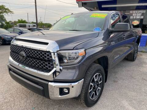 2018 Toyota Tundra for sale at Cow Boys Auto Sales LLC in Garland TX