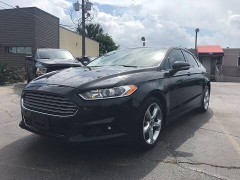 2013 Ford Fusion for sale at Saipan Auto Sales in Houston TX