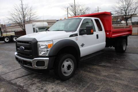 2016 Ford F-550 Super Duty for sale at BROADWAY FORD TRUCK SALES in Saint Louis MO