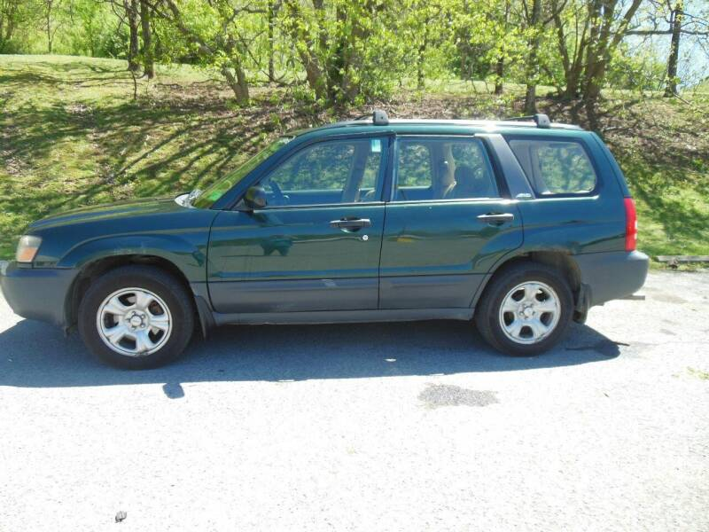 2003 Subaru Forester for sale at WESTON FORD  INC in Weston WV