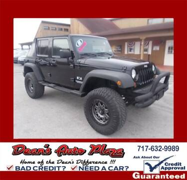 2008 Jeep Wrangler Unlimited for sale at Dean's Auto Plaza in Hanover PA