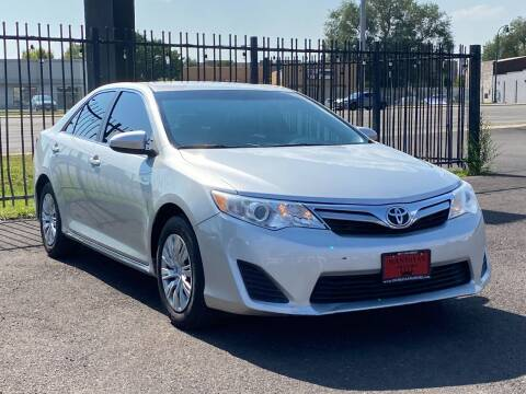 2013 Toyota Camry for sale at Avanesyan Motors in Orem UT