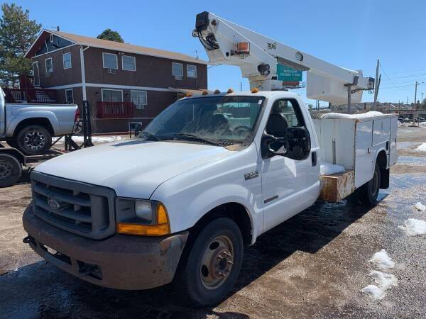 2000 Ford F-350 Super Duty for sale at Shift Automotive in Denver CO