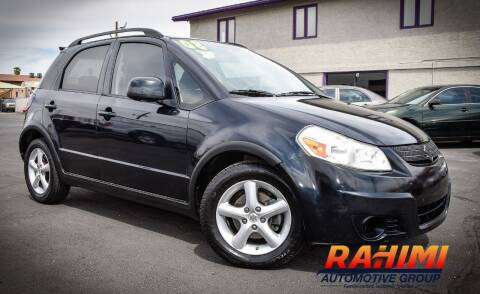 2008 Suzuki SX4 Crossover for sale at Rahimi Automotive Group in Yuma AZ
