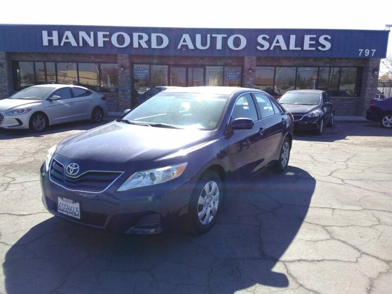 2011 Toyota Camry for sale at Hanford Auto Sales in Hanford CA