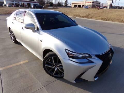 2016 Lexus GS 350 for sale at Calvary Motors, Inc. in Bixby OK