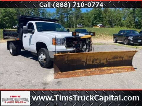 2011 GMC Sierra 3500HD CC for sale at TTC AUTO OUTLET/TIM'S TRUCK CAPITAL & AUTO SALES INC ANNEX in Epsom NH