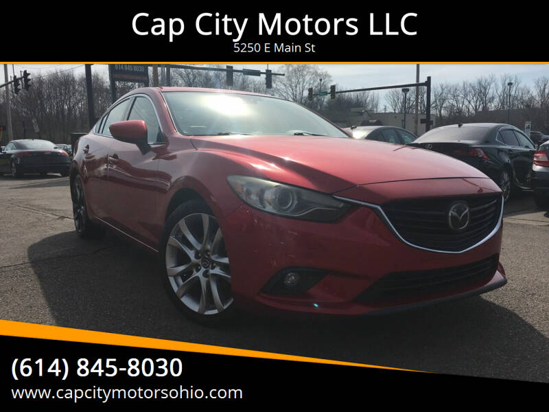 2014 Mazda MAZDA6 for sale at Cap City Motors LLC in Columbus OH