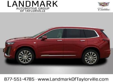 2021 Cadillac XT6 for sale at LANDMARK OF TAYLORVILLE in Taylorville IL