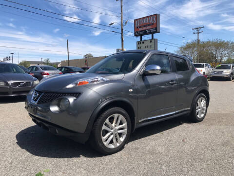 2012 Nissan JUKE for sale at Autohaus of Greensboro in Greensboro NC
