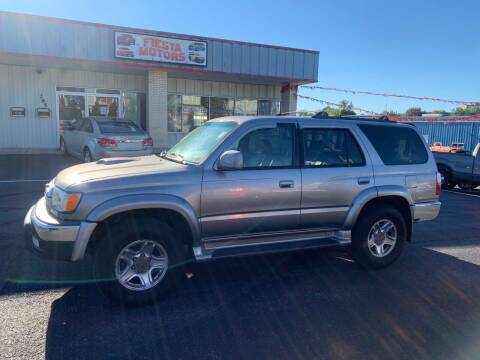 2002 Toyota 4Runner for sale at 4X4 Rides in Hagerstown MD